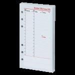 2017 - Kompakt A6 Kalendarium (1 Woche = 2 Seiten) vertikal