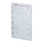2017 - Pocket A7 Kalendarium (1 Woche = 2 Seiten)