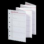 2017 - Pocket A7 Jahresübersicht Leporello