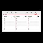 Kompakt A6 Kalendarium (1 Woche = 2 Seiten) Querformat