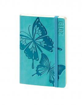V-Book Buchkalender A6 - Softcover - Schmetterlinge