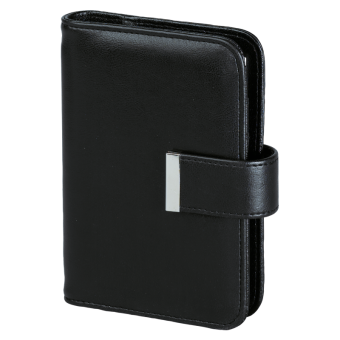 Terminplaner Pocket - Softfolie CLASSIC schwarz