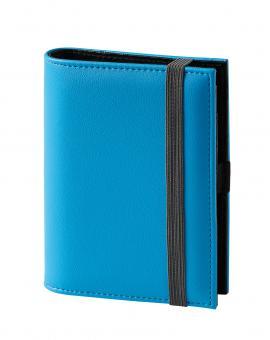 Terminplaner Pocket - Softfolie türkis mit grauem Band