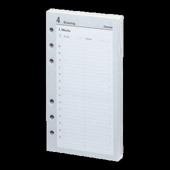 2018 - Kompakt A6 Kalendarium (1 Tag = 1 Seite)