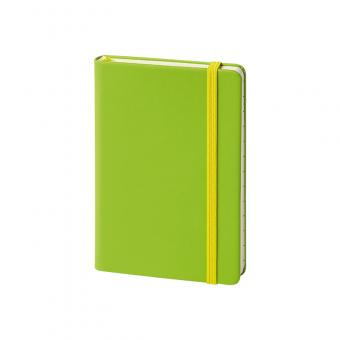 Hardcover, glatt, grün