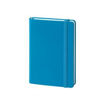 Hardcover, glatt, blau