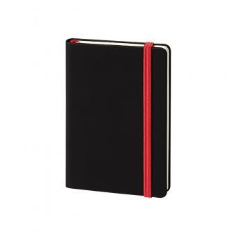 Hardcover, glatt, schwarz