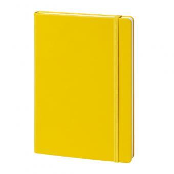 Hardcover, glatt, gelb