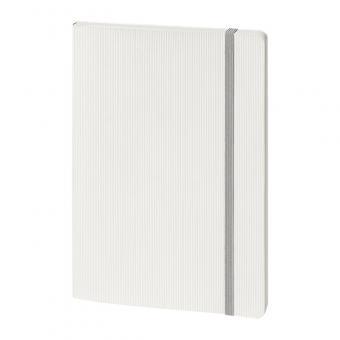 Softcover, geprägt, weiß