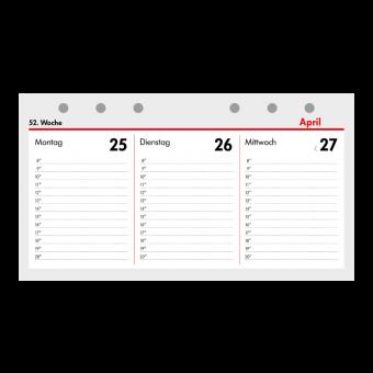2018 - Kompakt A6 Kalendarium (1 Woche = 2 Seiten) Querformat