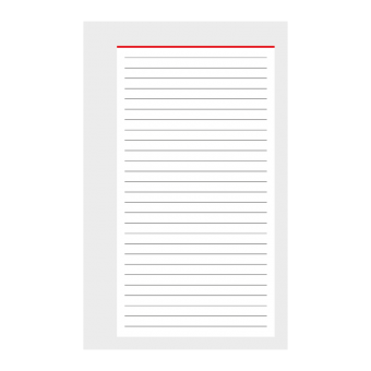 Pocket A7 Notizen 50 Blatt