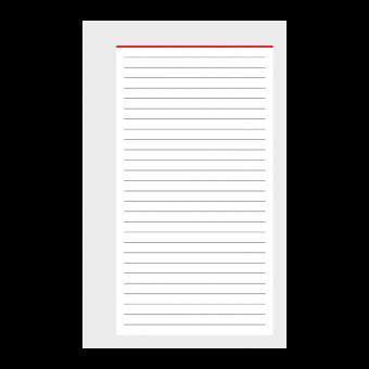 Mini A8 Notizen 50 Blatt